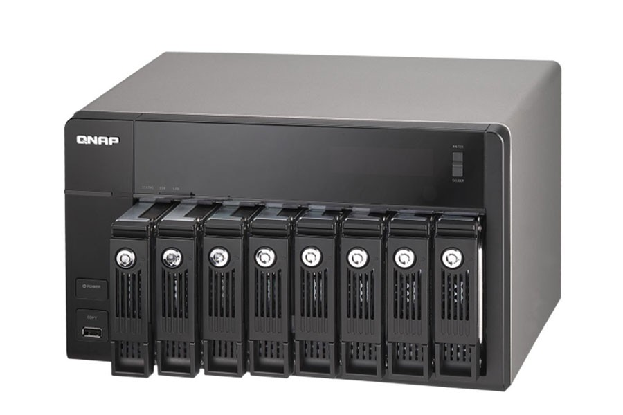QNAP 8-bay high performance NAS for SMB - TS-870