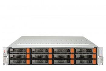Supermicro 2U 24+2 Bays Dual processor Simply Double