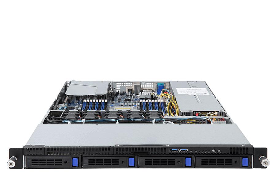 Gigabyte 1U 4Bays Single AMD Processor Rackmount Server - R151-Z30